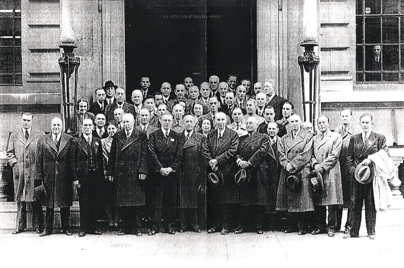 Founders of ISO, London 1946