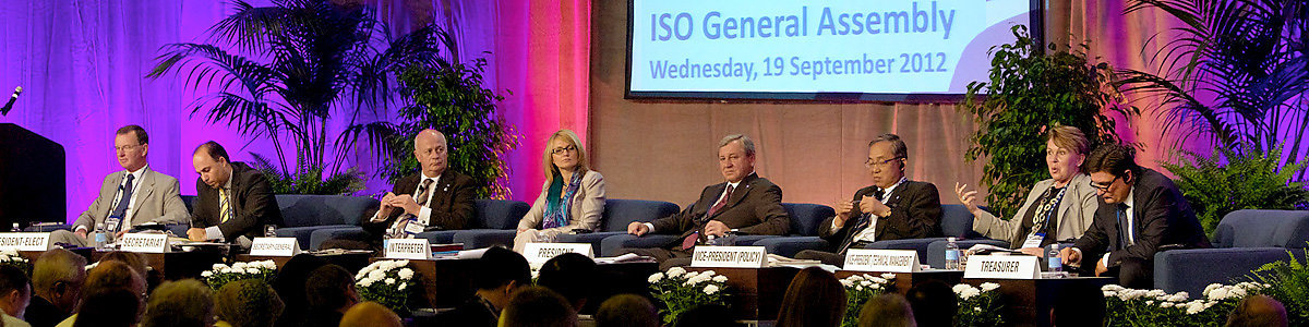 Innovation is name of the game - ISO 35th General Assembly