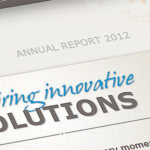 """Innovative solutions"" at the core of ISO's Annual Report 2012"