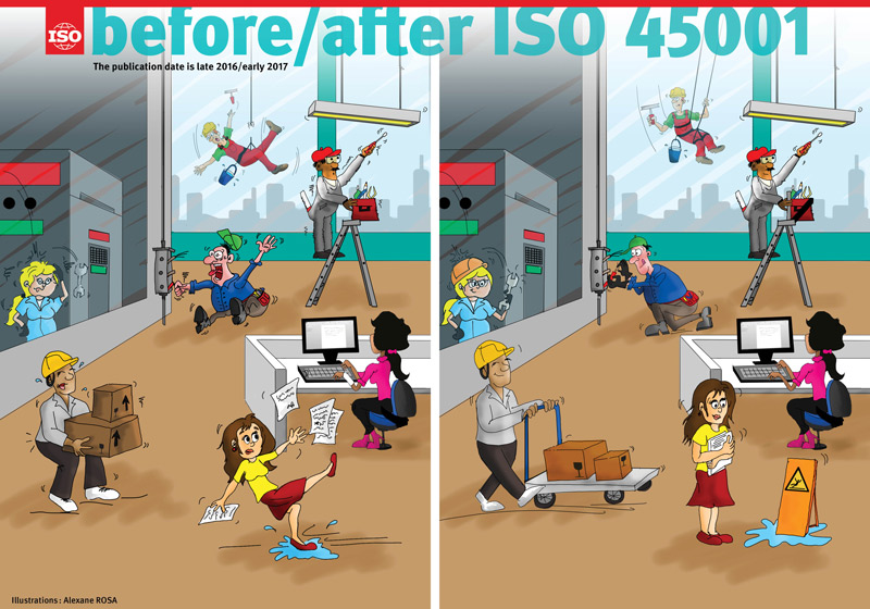before/after ISO 45001