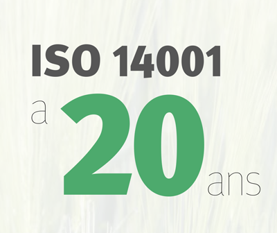 Infographie: ISO 14001 a 20 ans