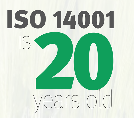 Infographic: ISO 14001 is 20years old