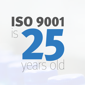 Infographic: ISO 9001 is 25 years old