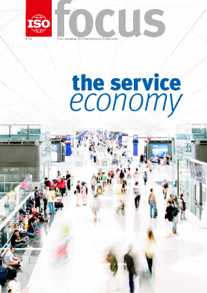 Cover of ISOfocus May/June 2016 - The service economy