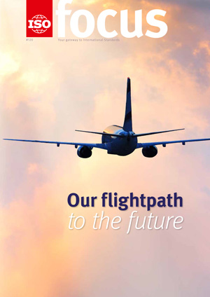 Cover of ISOfocus January/February 2017 - Our flightpath to the future