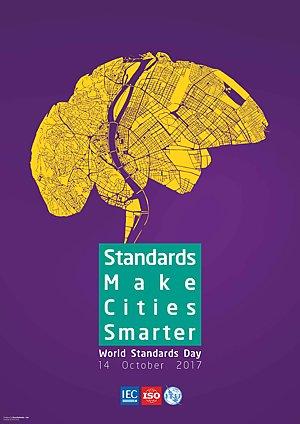 Poster: Standar membuat kota lebih cerdas