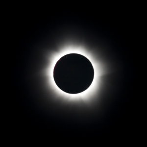 Total solar eclipse of the sun.