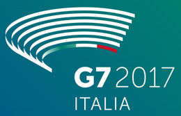 Logo of the G7 2017 Italia