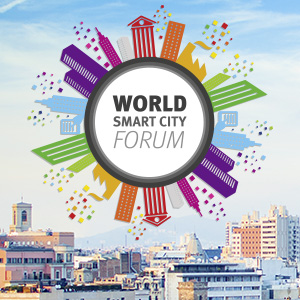 Banner of the World Smart City Forum 2017.
