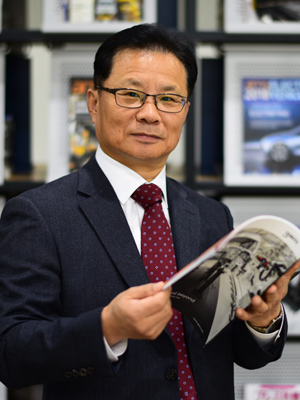 Mr InSung Chang, Executive Director at a Hyundai research and development centre.