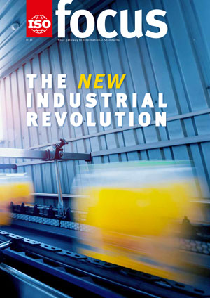 Cover page: ISOfocus November/December 2018:: The new Industrial Revolution