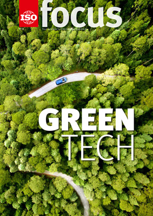 Cover page: ISOfocus May/June 2019: Green tech
