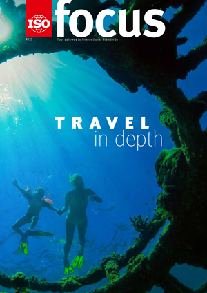 Cover page: ISOfocus July/August 2019:  Travel in depth