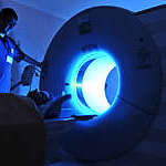 Magnetic Resonance Imaging machine AA a series of dramatically lightened MRI.