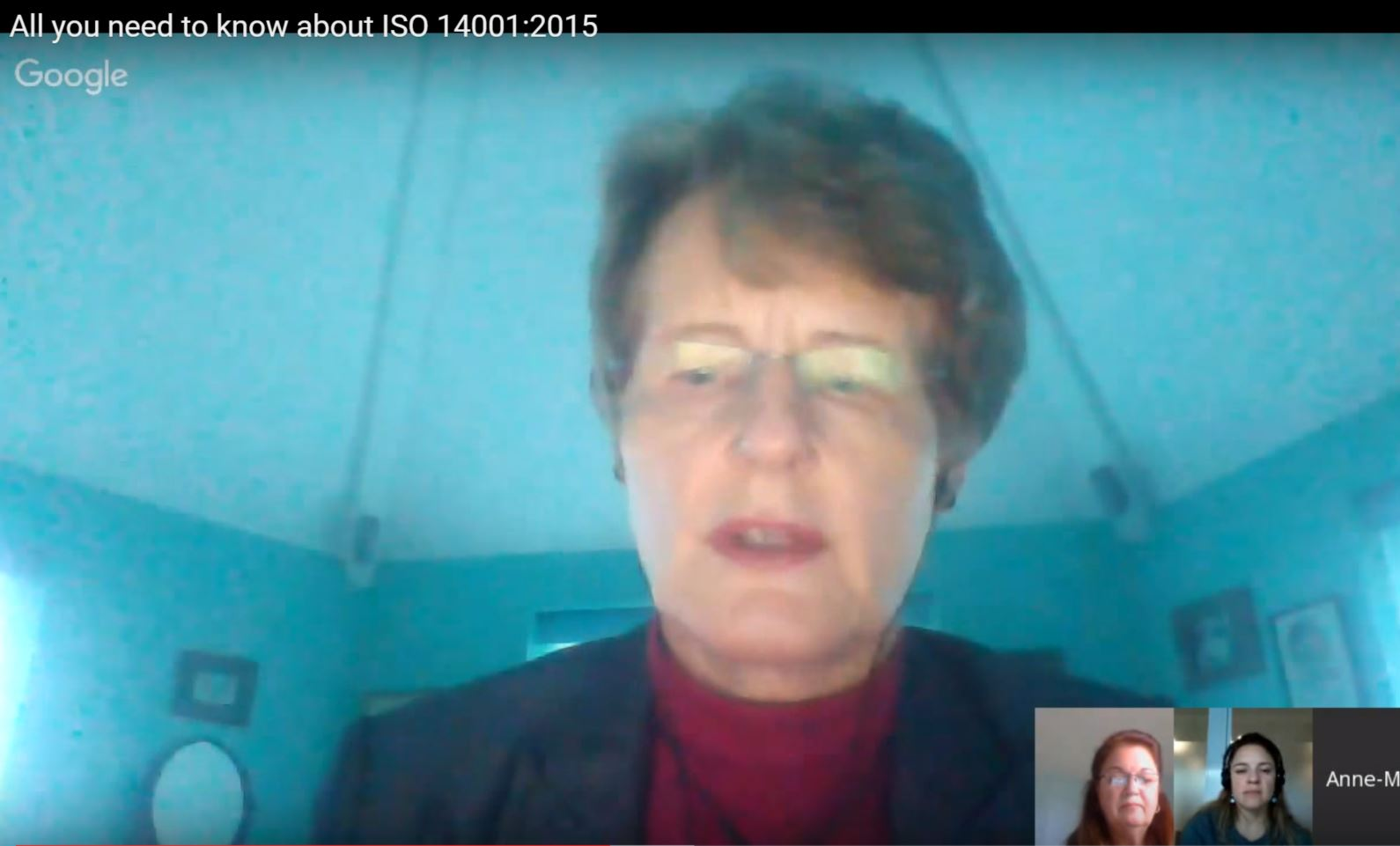 Video: Google hangout - All you need to know about ISO 14001:2015