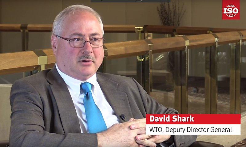 David Shark from WTO talks about services