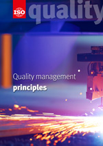 Cover page: Quality management principles