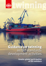 Page de couverture: Guidance on Twinning in ISO standards development activities