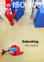 Cover page: ISO 9001 - Debunking the myths