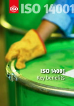 Cover page: ISO 14001 - Key benefits