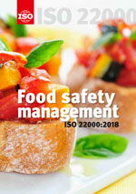 Cover page: Food safety management - ISO 22000:2018