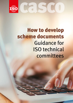 Cover page: How to develop scheme documents - Guidance for ISO technical committees