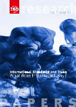 Cover page: International Standards and Trade - What does the research say?