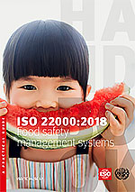 Page de couverture: ISO 22000:2018 - Food safety management systems — A practical guide