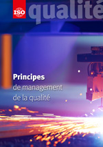 Page de couverture: Principes de management de la qualité
