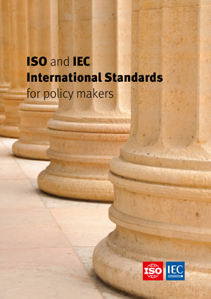 Cover page: ISO and IEC International Standards for policy makers