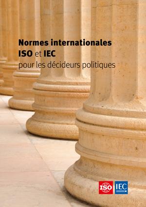 Page de couverture: Normes internationales ISO et IEC pour les décideurs politiques