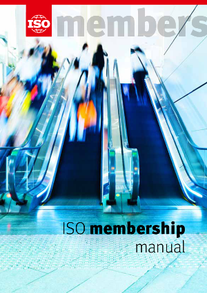 Cover page: ISO Membership Manual