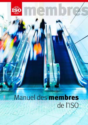 Page de couverture: Manuel des membres de l'ISO
