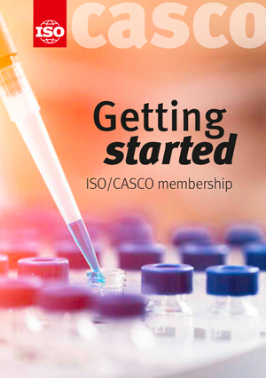 Page de couverture: Getting started - ISO/CASCO membership