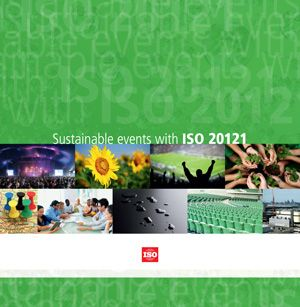 Cover page: Sustainable events with ISO 20121