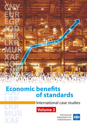 Cover page: Economic benefits of standards Volume 2