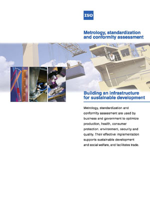 Page de couverture: Métrologie, normalisation et évaluation de la conformité - Bâtir une infrastructure pour le développement durable