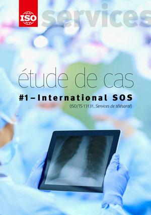 Page de couverture: Etude de cas #1 – International SOS (ISO/TS 13131, Services de télésanté)