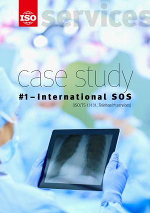 Титульный лист: ISO Strategy for Services - Case study #1 - International SOS (ISO/TS 13131, Telehealth services)