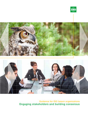 Cover page: Guidance for ISO liaison organizations-Engaging stakeholders