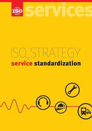 Титульный лист: ISO Strategy for Service Standardization