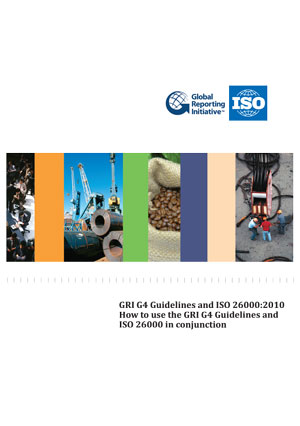 Cover page: GRI G4 Guidelines and ISO 26000:2010