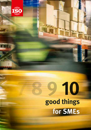 Cover page: 10 good things for SMEs