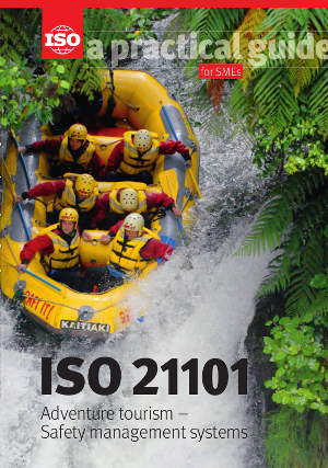 Титульный лист: ISO 21101 - Adventure tourism - Safety management systems - A practical guide for SMEs