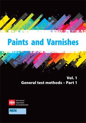 Page de couverture: Peintures et vernis - Méthodes générales d'essai (Vol 1.1)