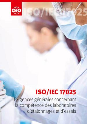 Page de couverture: ISO/IEC 17025 - Exigences générales concernant la compétence des laboratoires d'étalonnages et d'essais