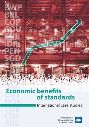 Cover page: Economic benefits of standards Volume 1