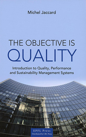 Cover page: The Objective is Quality