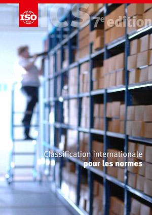 Page de couverture: Classification internationale pour les normes (ICS)