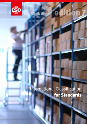 Cover page: International Classification for Standards (ICS)